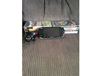 Sony PSP Console with 8 Games