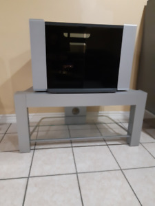 NEW Glass TV Stand with 2 Shelves (I have 2)