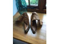 Vintage size 3 leather boots