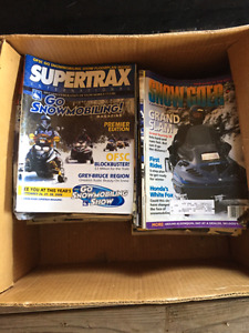 Old snowmobile magazines