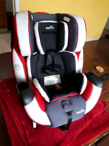 Evenflo symphony 3-in-1 infant-child car seat