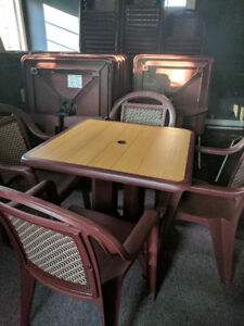 COMMERCIAL RESTAURANT FURNITURE  FOR SALE  NEAR SAINT JOHN