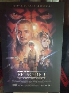 SUPER laminé de Star Wars Episode I The Phantom Menace