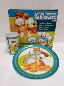 Garfield 12 pc Tableware set