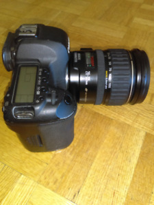 Canon 5D mkii with Canon 28 135 lens