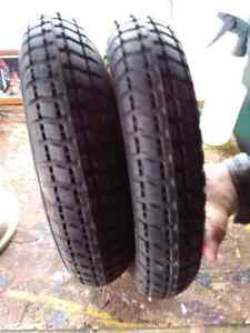 Small tires and rim