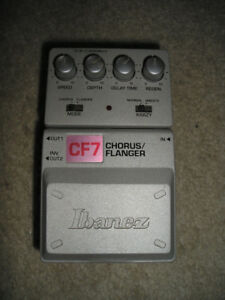 EFFECTS PEDAL - Ibanez CF7 Chorus Flanger