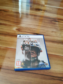 Game for sale/ call of duty cold War ps5