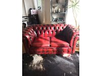 Chesterfield two seater sofa bed