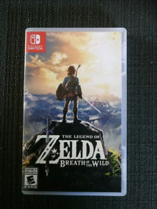 The Legend of Zelda Breath of tge Wild - Switch