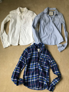 3 Abercrombie & Fitch shirts for $25 Together