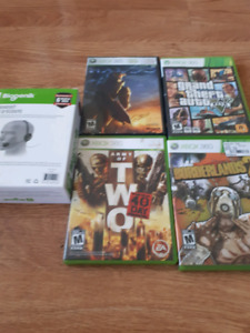 Xbox 360 games and a new headset
