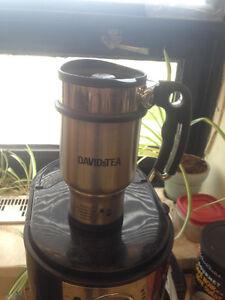 David's Tea Travel mug/press