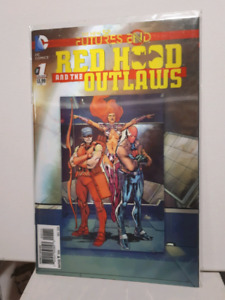 Red Hood and the Outlaws 3D lenticular cover