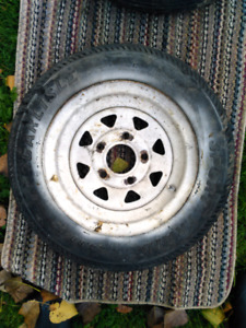 Used 480 X 12 trailer tire.