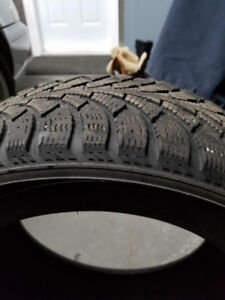 USED WINTER TIRES/ PNEUS D'HIVER USAGES