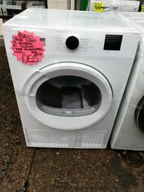 White beko 8kg load condenser dryer