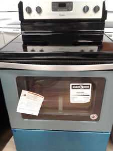 """30"""" whirLpool staInless steel STOVE"""