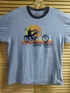 Large T-Shirt Death Valley California Motorcycle Prince George British Columbia image 1