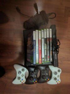 Xbox 360 S Kinect 500GB with lots of games