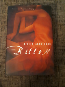 Autographed copy of Bitten by Kelley Armstrong