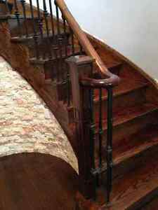 Flooring and Stairs Refinishing-MANUEL AND SON CONTRACTING