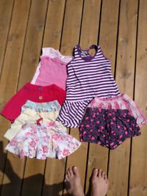 Bundle girls 2-3 year summer clothes.
