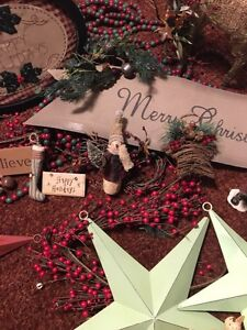 Christmas decorations rustic one of a kind Kitchener / Waterloo Kitchener Area image 5