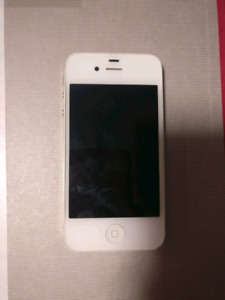 Available. Apple iPhone 4S 16GB unlocked with charger
