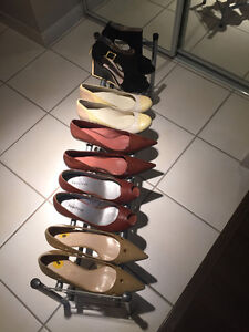 Five (5) Pairs of Women's Shoes, Size 8