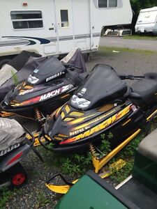 WANTED Bombardier Skidoo Mach 1 MACH Z 1997-03 complete,parts