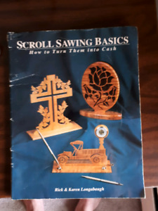 Scrollsaw Patterns book and VHS tape.