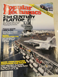 Vintage Sept. 1991 Popular Mechanics Magazine - Great Nostalgia Kitchener / Waterloo Kitchener Area image 1