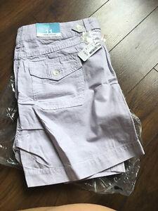 Cotton Shorts - Lavender - Size 11