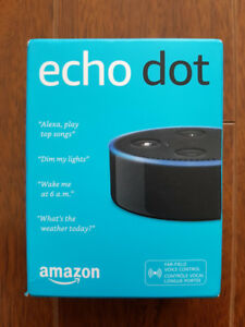 echo dot (2nd gen) *brand new, unopened in box