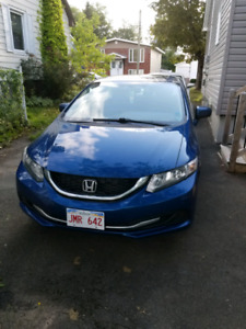 2014 Honda Civic EX lease takeover 7 months incentives offered