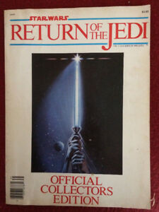 Star Wars Return of the Jedi official collectors edition