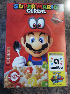 Limited Edition Super Mario Cereal w/ Amiibo