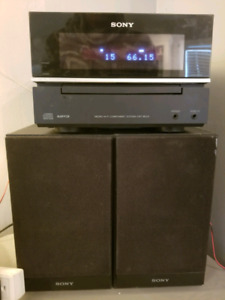 Sony Stereo system speakers