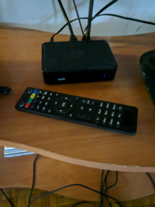 Mag 250 IPTV box with remote