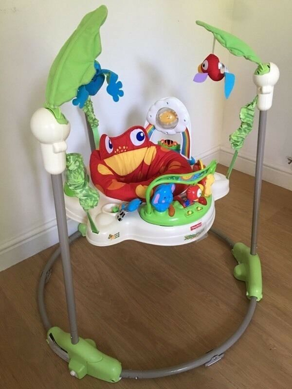 0ad3f6eb0 Fisher Price Rainforest Jumperoo in original box