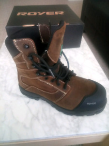 Royer Safety Boots. 10.5