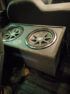 Subwoofer system and amplifiers