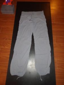 Lululemon dance studio pants, size 8