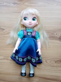 Elsa doll from the Disney shop