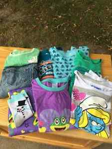 Lot of Girls' sized mostly 7/8 Clothing 8 pieces