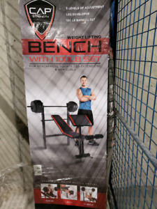 Bench Press and Leg curl home equipment