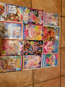 Barbie DVD's in Excellent Condition