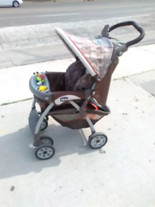 Baby strollers - 2 Chicco and 1 Quinny Zapp, 100 each OBO