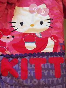 Hello Kitty Twin bedding set and bedroom decor